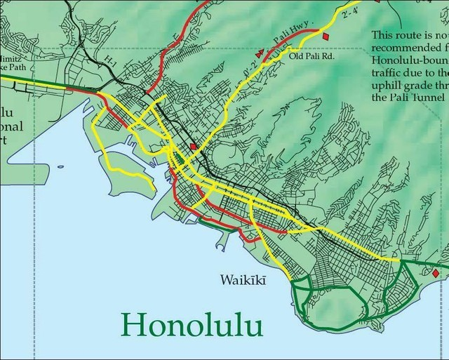 Downtown Honolulu Hawaii Bike Rental Bikes and Cruisers