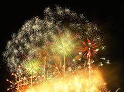 FIREWORKS EVERY FRIDAY 7-30 AT HILTON HAWAIIAN VILLAGE