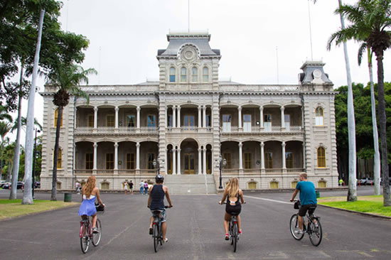 THE HAWAIIAN ROYAL IOLANI PALACE